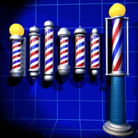 Barber Poles Collection 01
