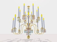 3ds max light chandelier