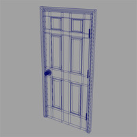 3d accurate door model