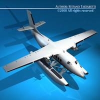 generic floatplane 3d model