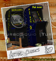 3d model arcade machines