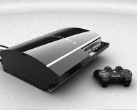 controller ps3 3 3d model