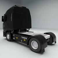 3d iveco truck