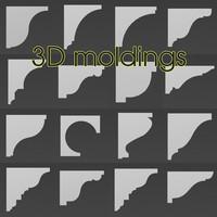 3d moldings model