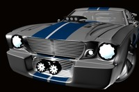 3d shelby gt charger model