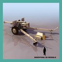 105 mm field haubitzer max
