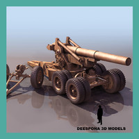 M115 203 mm howitzer US ARTILLERY WWII