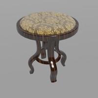max comfortable classical stool