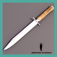 3d model adventure deer horn hunting