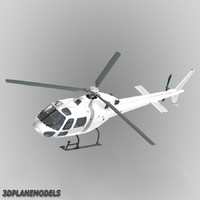 Eurocopter AS355 Generic white