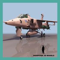 3dsmax ba gr1 british fighter jet