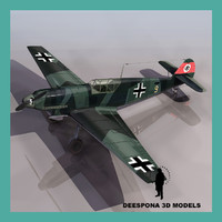 3ds max messerschmitt bf 109 b