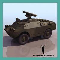 BRDM 3 SOVIET RUSSIAN