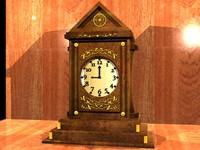 clock 3d dxf