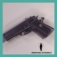 colt m1994 a1 handgun 3d model