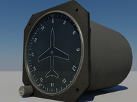 3d directional gyro heading indicator