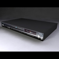 dvd player 3d model