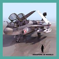 max ea6b navy recon jet