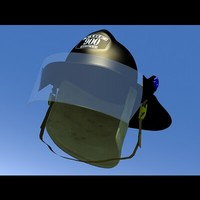 3d firehat model