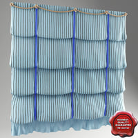 3d curtain london model