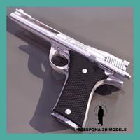 3d max automag 180 pistol