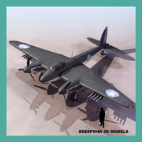 3d model mosquito fighter chinese nationalist