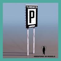 3d parking signal