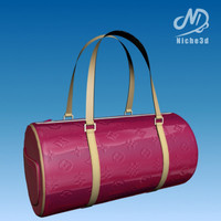 fashion designer bag - 3d model