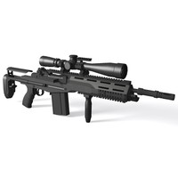 M14 SOPMOD Battle Rifle
