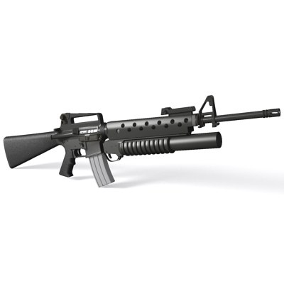 the gallery for   > m16 assault rifle