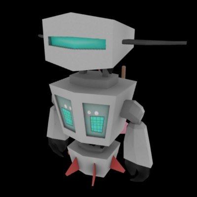 3ds max character robot - Robot.zip... by Phosphoer
