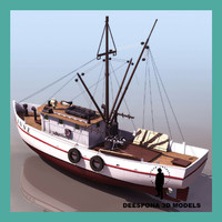 SHRIMP BOAT FISHING SHIP