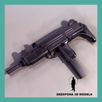 Uzi israeli submachine gun