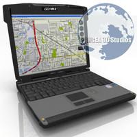 3d vr2 laptop model