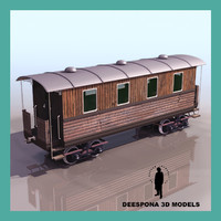 3d general wagon passenger 2nd model