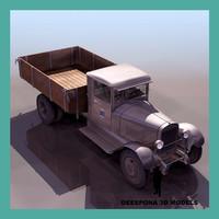 3ds max zis 5 russian truck