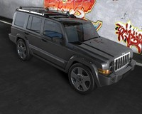 Jeep Commander C4D.rar