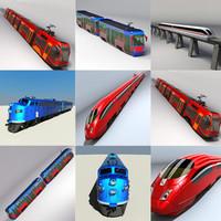 tram set ice 3d max