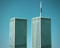 3ds max world trade center