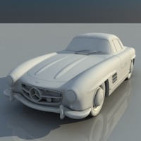Mercedes_benz_300sl---no texture
