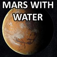 3dsmax mars water