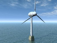 obj wind turbine