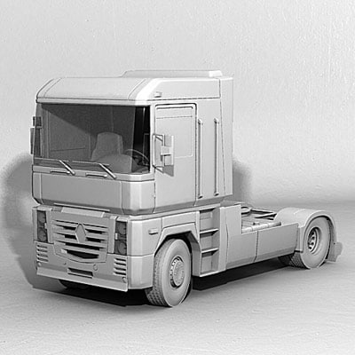 vario euro 3d model - Euro Transport Collection 08... by QLEE