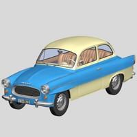 skoda octavia 1960 3d model