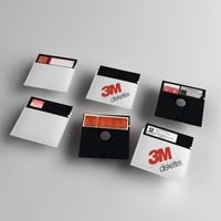 free 3ds model 5 diskette