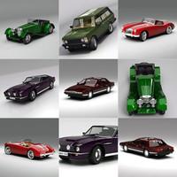 3d model classic british