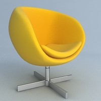 planet chair 3ds