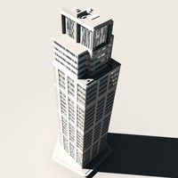 3d 3ds skyscraper