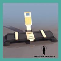 3d model movie cutter 36mm