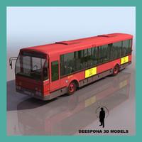 3d emt european urban public model